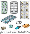 vector set of medicine 50363369