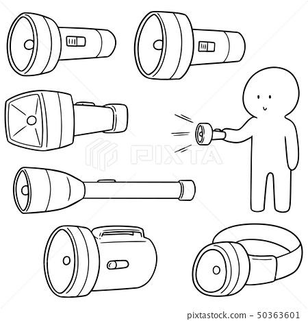 vector set of torch 50363601