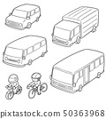 vector set of transportation 50363968