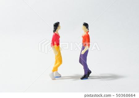Two women arguing 50368664