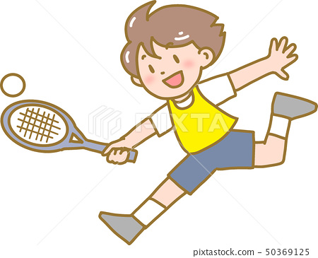 Children playing tennis 50369125