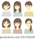 주근깨가있는 여성 50370628