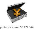 Yen symbol in a Numeric Box 50379044