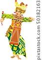 Bali Traditional Dancer 50382163