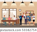 business people coworking 50382754