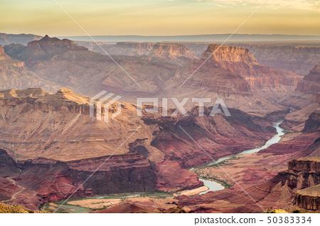 Grand Canyon, Arizona, USA at dawn from the south 50383334