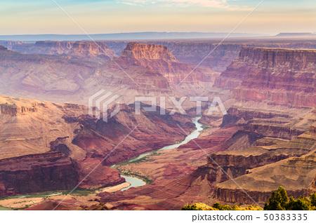 Grand Canyon, Arizona, USA at dawn from the south 50383335