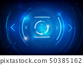 Abstract HUD technology background 011 50385162