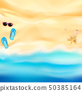 Abstract background sand and sea beach 001 50385164