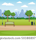 City park scenery 50386897