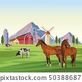 farm animals cartoons 50388687
