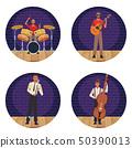Musician artist cartoons 50390013