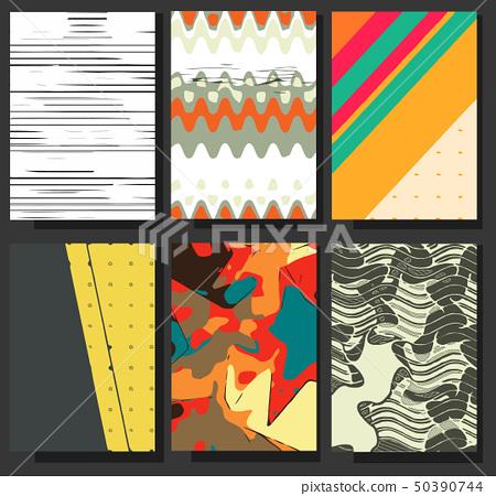 Business brochure flyer design layout vector 50390744