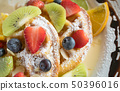 Flatlay Half Strawberry Blueberry Kiwi Lemon 50396016
