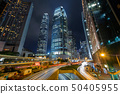 Hong Kong skyline at central business district 50405955