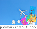 Business Transportation and travel background 50407777