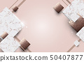 Abstract luxury background. Marble with golden 50407877