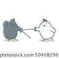 飞扬的鸡和乌鸦击剑 50408290