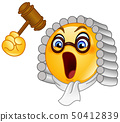Judge emoticon 50412839