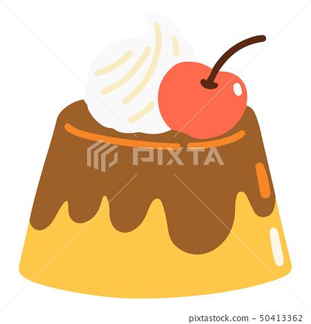 No pudding outline 50413362