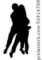 Couple passionately hug 50414709