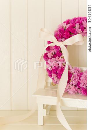 粉紅色的花花圈 50416854