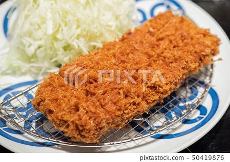 Delicious tonkatsu 50419876