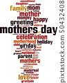 Mother's day word cloud 50432408