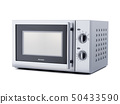 Microwave oven isolated 50433590