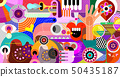 Abstract Art vector background 50435187