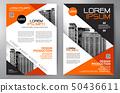 Business brochure flyer design a4 template. 50436611