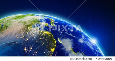 China, Japan and South Korea 50443009