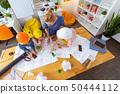 construction, school, classroom 50444112