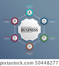 Infographics Business Template concept 50448277