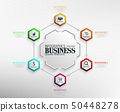 Infographics Business Template concept 50448278