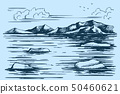 Antarctic Continent sketch 50460621