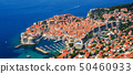 The historical old town of Dubrovnik, Croatia 50460933
