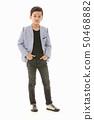 Asian boy in casual dress 50468882