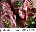 Raw pork steaks 50471790