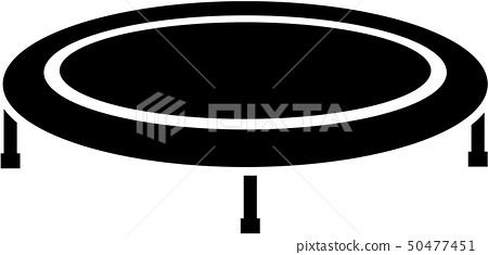 Trampoline icon 50477451