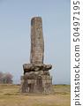 Stone monument of Nagoya castle 50497195