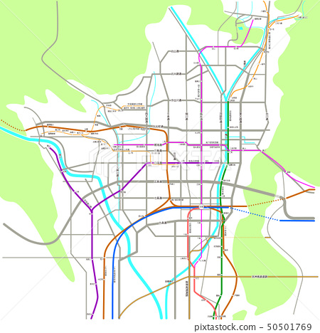 Map of Kyoto_2019 50501769