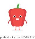 Paprika, Cute vegetable character 50509317