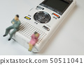 Voice recorder and men and women 50511041