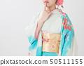 Thinking kimono women 50511155