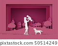 Happy Mother's day greeting card 50514249