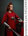 female, warrior, sword 50520493