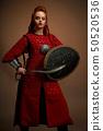 warrior, woman, shield 50520536