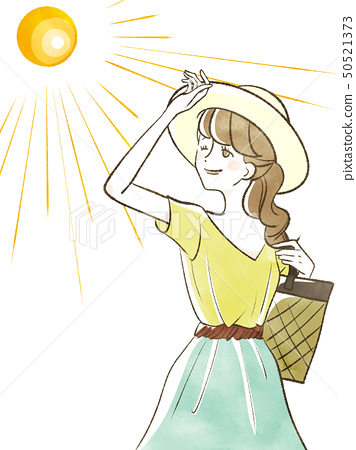여성 - 햇살 50521373