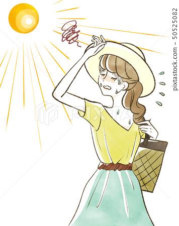 Female-heatstroke 50525082